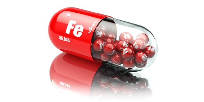 شديفات تكتب فقر الدم الناتج عن نقص الحديد فيما يعرف طبيّاً (iron deficency anemia)