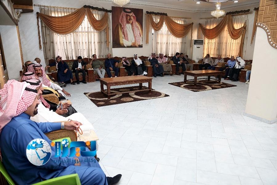 الشيخ عواد ابو جنيب الفايز يقيم مأدبة غداء في اللبن... صور