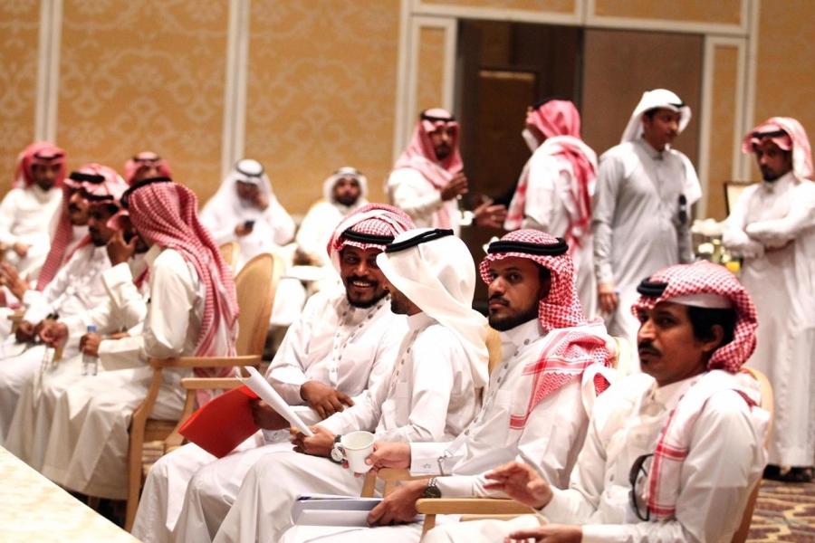 انطلاق الجولة الثانية من شاعر المليون من المملكة العربية السعودية ....صور