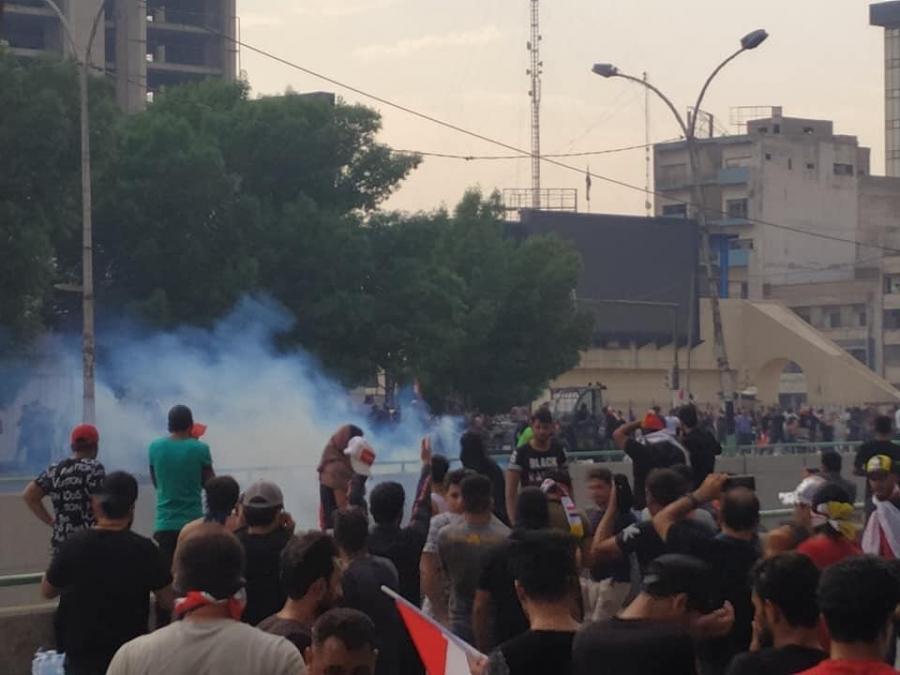Demonstrations in Baghdad