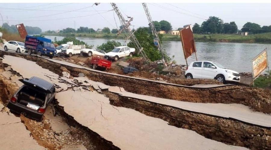 زلزال يضرب باكستان يخلف 19 قتيل و300 جريح