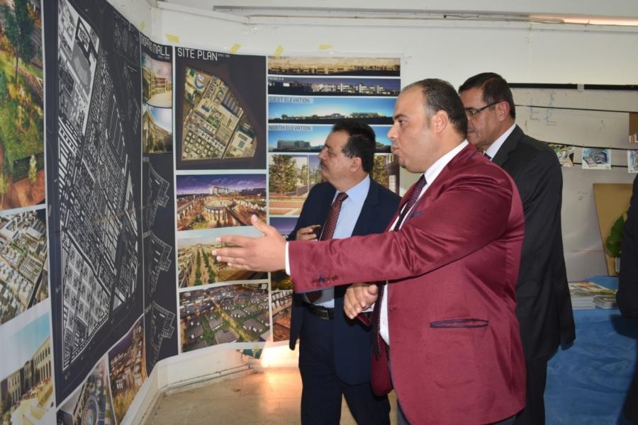العتوم : يفتتح اليوم العلمي المعماري الاول في جامعة آل البيت
