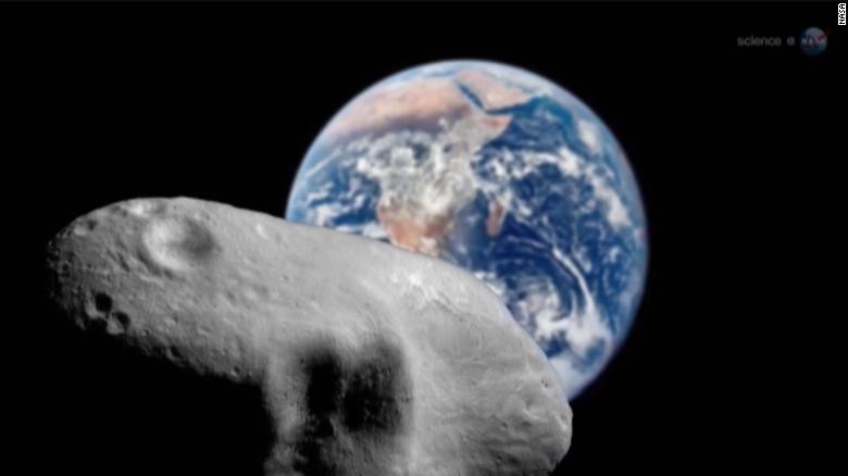 كويكب يمر بين الأرض والقمر الليلة القادمة