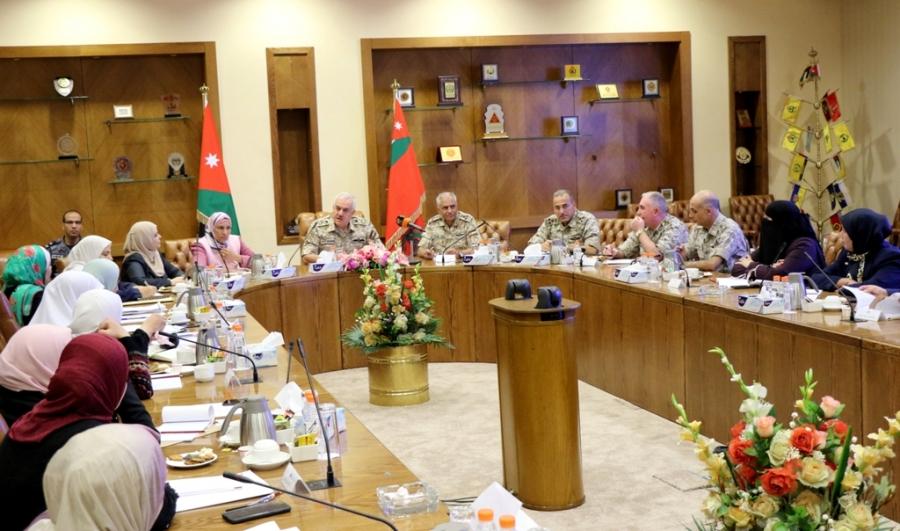 الحنيطي : يلتقي وفد البرلمانيات الأردنيات