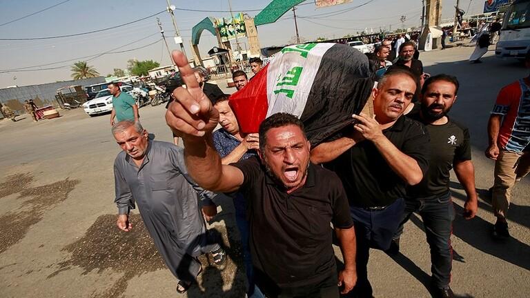 باريس تدين العنف في العراق وتدعو بغداد لحوار المحتجين