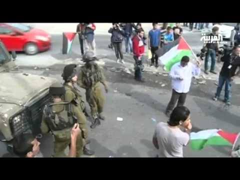 Palestinians injured in clashes with Israeli forces in Ramallah