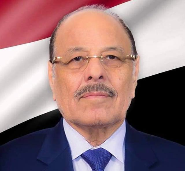 نائب رئيس الجمهورية اليمني  يعزي في وفاة الشيخ سلطان بن زايد آل نهيان