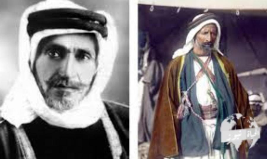 الخريشا تكتب الامير الفارس عودة ابوتايه ... قبيلة في رجل... زعيم الصحراء والبر