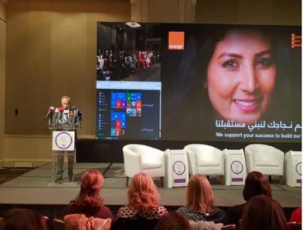 Orange الأردن راعي الاتصالات الرسمي لمؤتمر «نساء على خطوط المواجهة »