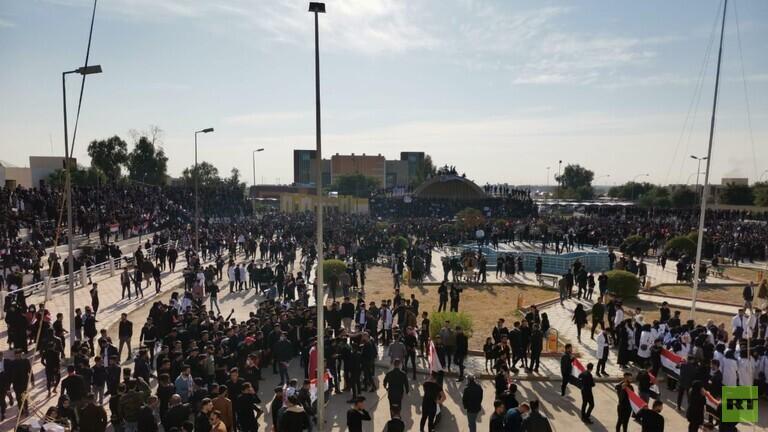 حداد في المدارس والجامعات العراقية على ضحايا الاحتجاجات