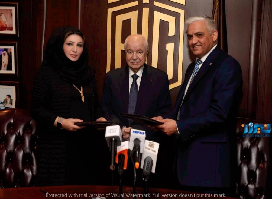 السليّم وأبو غزالة: يتفقان على إنتاج كتاب تعليمي خاص في تعليم اللغة العربية للناطقين بغيرها