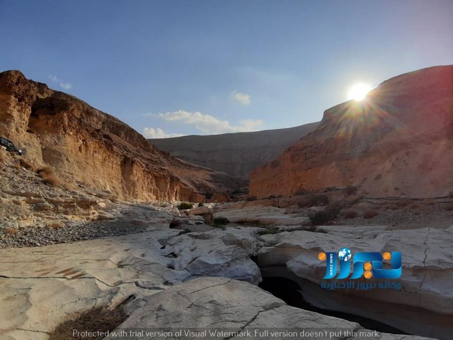نفحة الجمال وروح المغامرة في وادي السلايطة