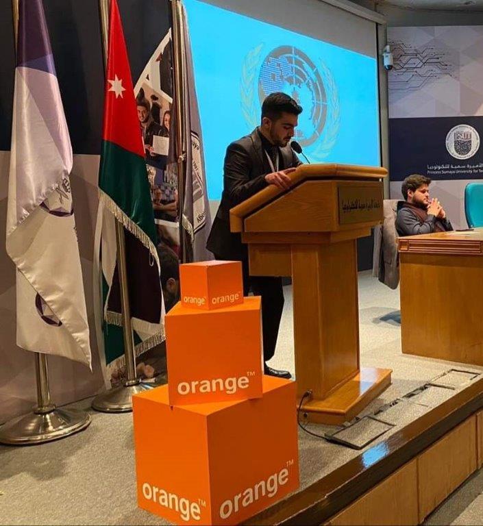 Orange الأردن ترعى نموذج الأمم المتحدة التاسع في سمية للتكنولوجيا