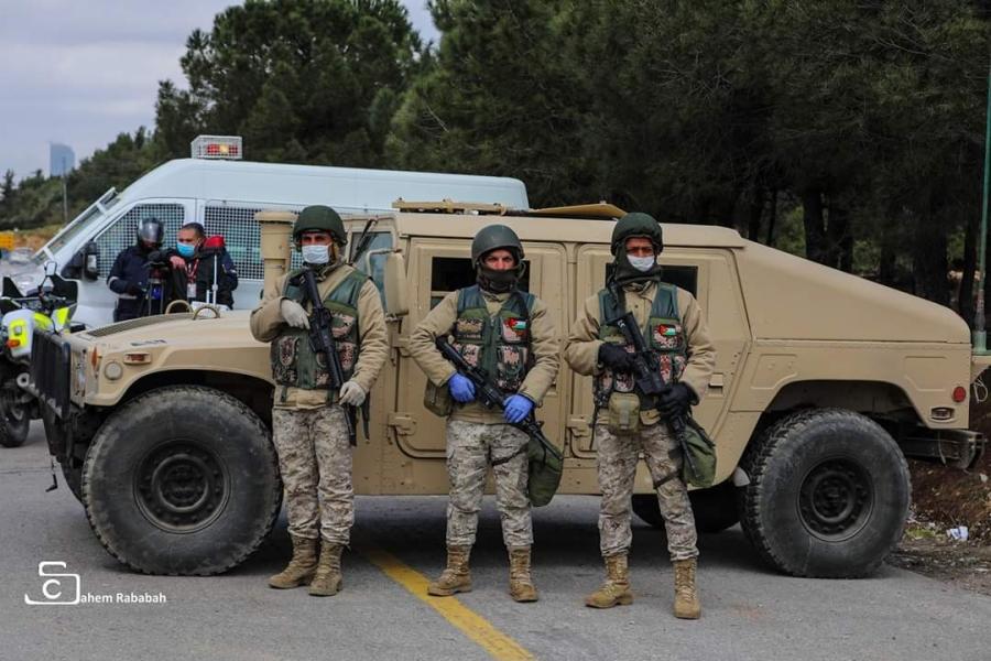 المتقاعدين العسكريين في جرش بخدمة الوطن والجيش