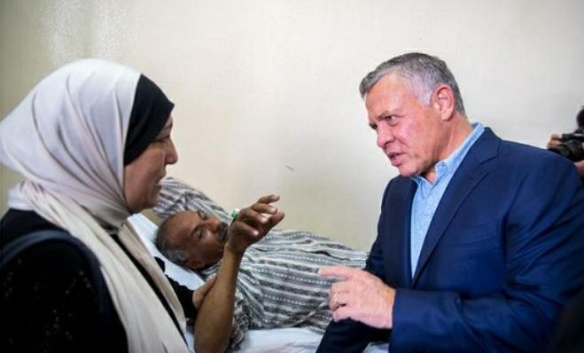 ليس لدى جلالة الملك اهم من صحة المواطن الأردني