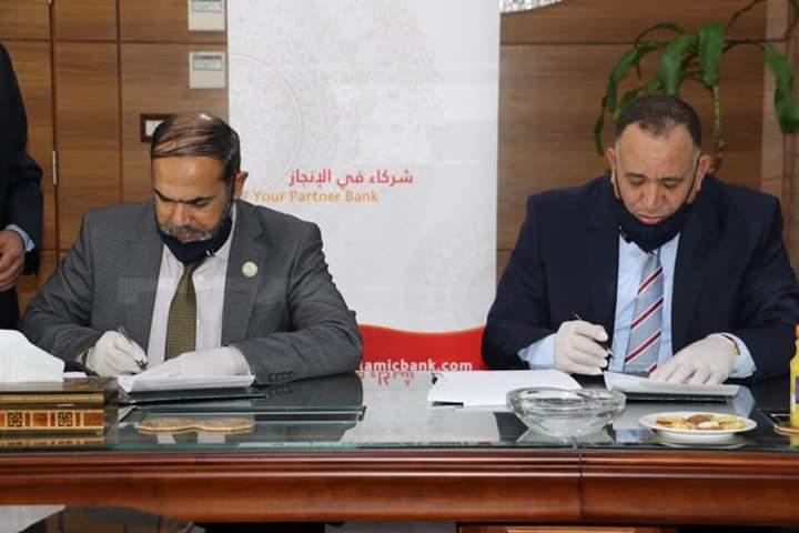النقابة تجدد اتفاقية التعاون مع البنك الإسلامي