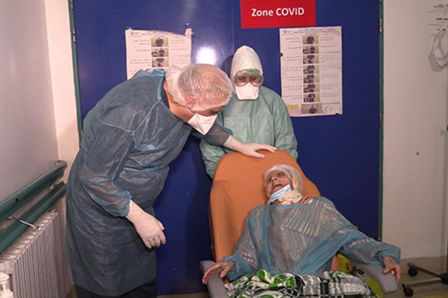 عجوز تبلغ110 أعوام تقهر كورونا في المغرب