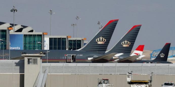 مستو : خسائر بالملايين وتضرر آلاف الوظائف لقطاع الطيران في الأردن بسبب كورونا