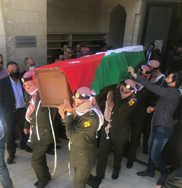 تشيع جثمان الفريق فيصل الشوبكي مدير المخابرات الأسبق