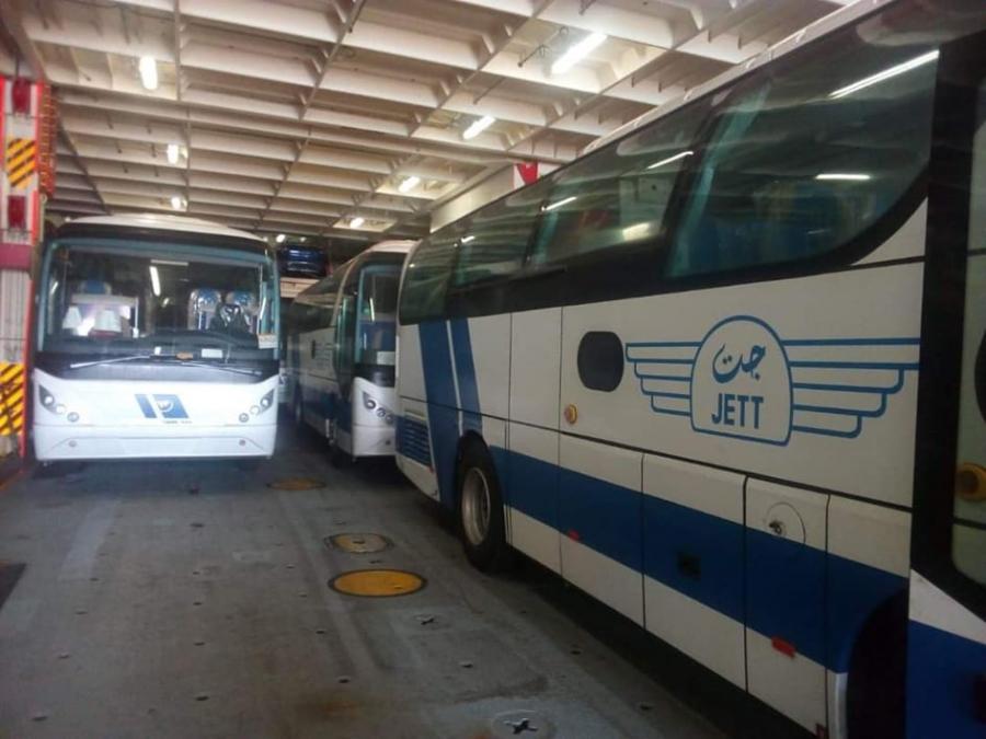 حداد : وصول 16 حافلة جديدة موديل 2020 للانضمام لاسطول شركة جت