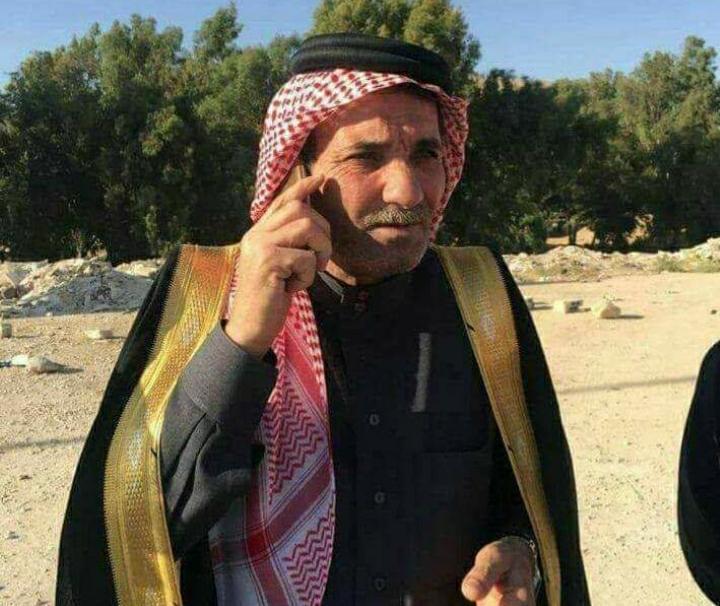 قبيلة بني حسن تفقد احد شيوخها الشيخ يوسف جلال القلاب العموش