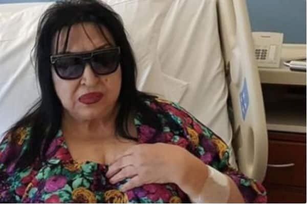سميرة_توفيق تتعرض إلى وعكة صحية حادة