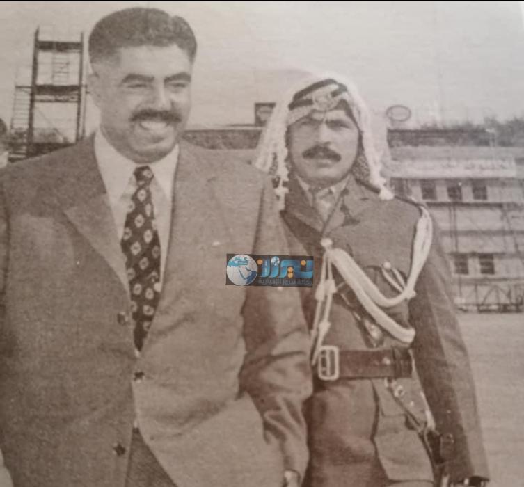 المرافق العسكري للشهيد وصفي التل  العميد فايز اللوزي في ذمة الله...