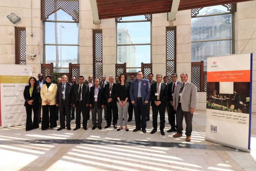 جامعة فيلادلفيا  تشارك في ندوة القانون الدولي الإنساني