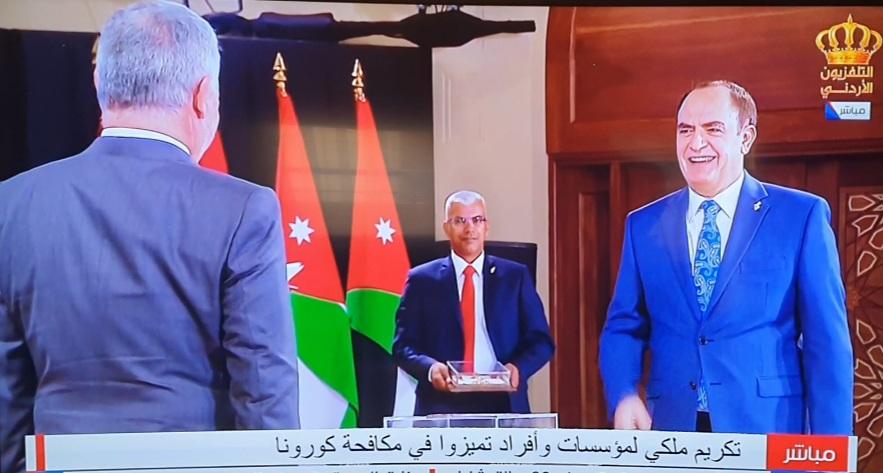 جلالة الملك عبدالله الثاني ينعم على شركة البوتاس العربية بوسام الملك للتميز من الدرجة الأولى