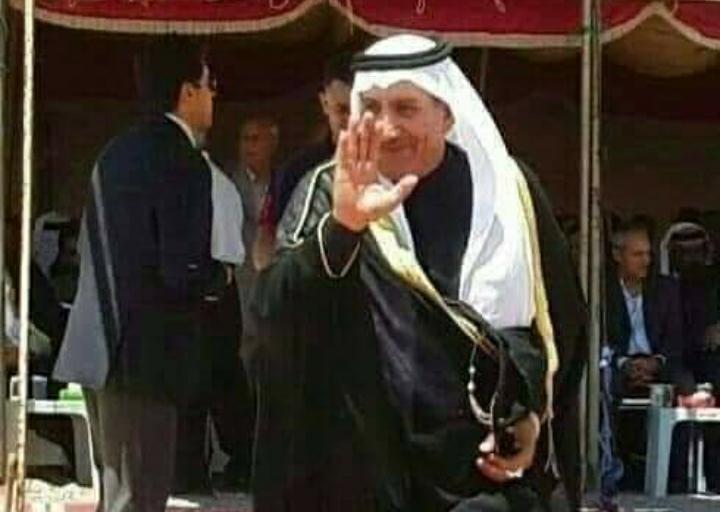 الكعابنة يعزي الدعجة بوفاة  النائب الأسبق سالم الهدبان