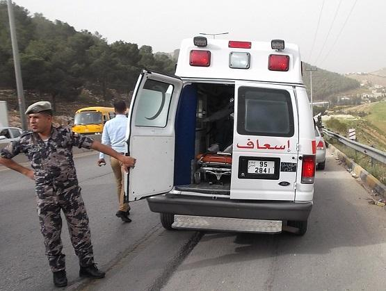 وفاتان و10 إصابات بحوادث سير بالأردن