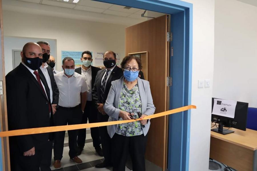 افتتاح مختبر متخصص في مجال التعلم الالكتروني بالجامعة الألمانية الأردنية