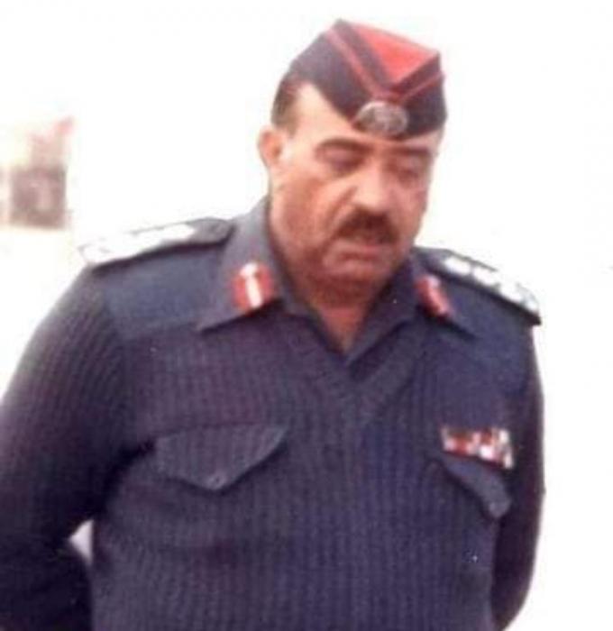 اللواء المتقاعد عبدالوهاب النوايسه مدير شرطة الزرقاء فترة الثمانينات