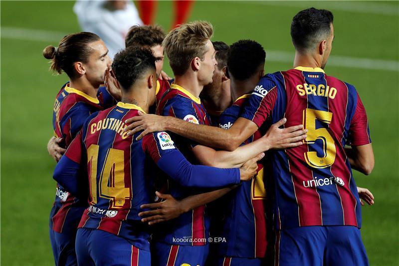 برشلونة يجتاز فخ كورونا