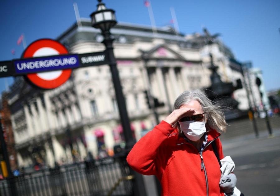 150 وفاة وأكثر من 16 ألف إصابة بكورونا في بريطانيا