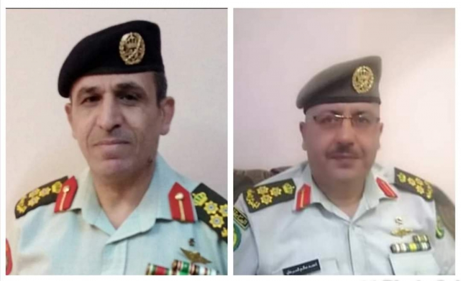 مبارك للعميد خالد والعميد احمد حصولهما على شهادة الماجستير بالدرسات الدفاعية