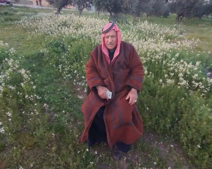 قبيلة بني صخر تفقد أحد رجالها الحاج محمود الدريبي الزبن ابو سلطان
