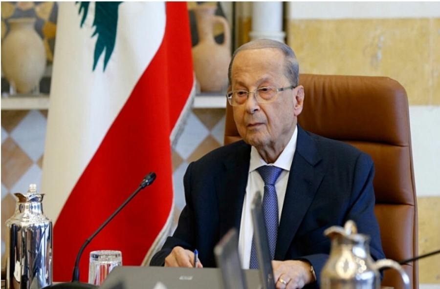 الرئيس اللبناني يوقع قانونا لتعويض ضحايا تفجير مرفأ بيروت