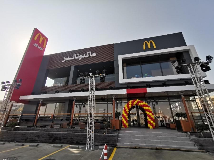ماكدونالدز الأردن تفتتح فرعها السادس والثلاثون بالشراكة مع جوبترول