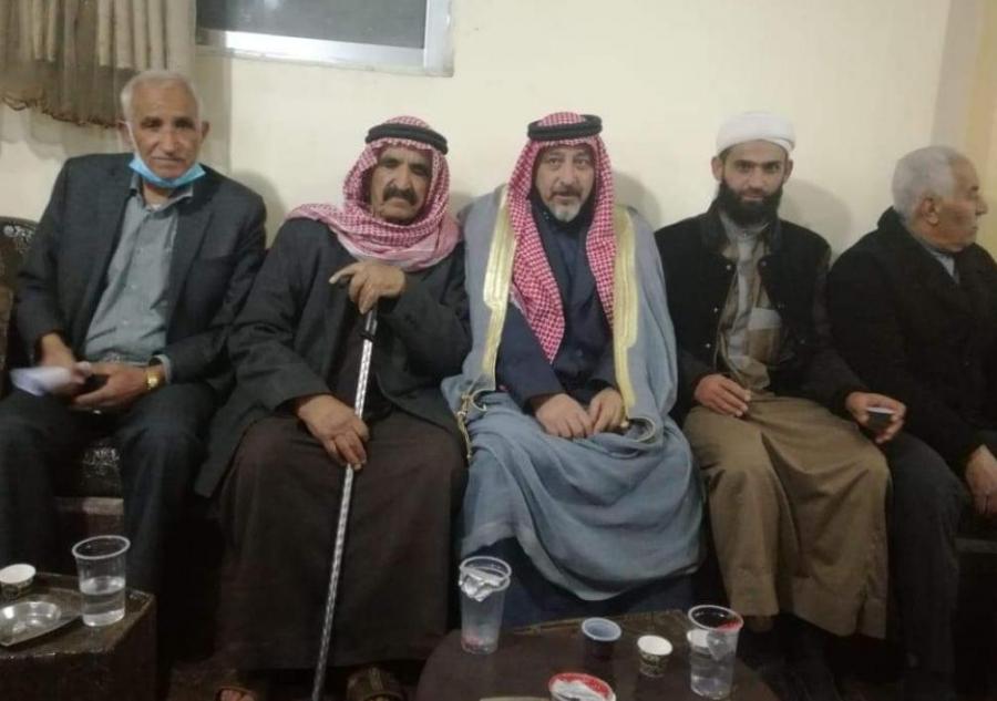 صلح عشائري بين أبناء  عشيرة الصمادي