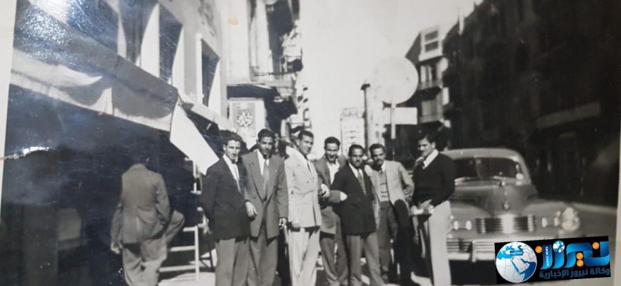 صورة من ذاكرة الوطن لطلاب الأردنيين بالإسكندرية عام 1951