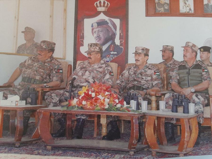 صورة من ذاكرة الجيش العربي