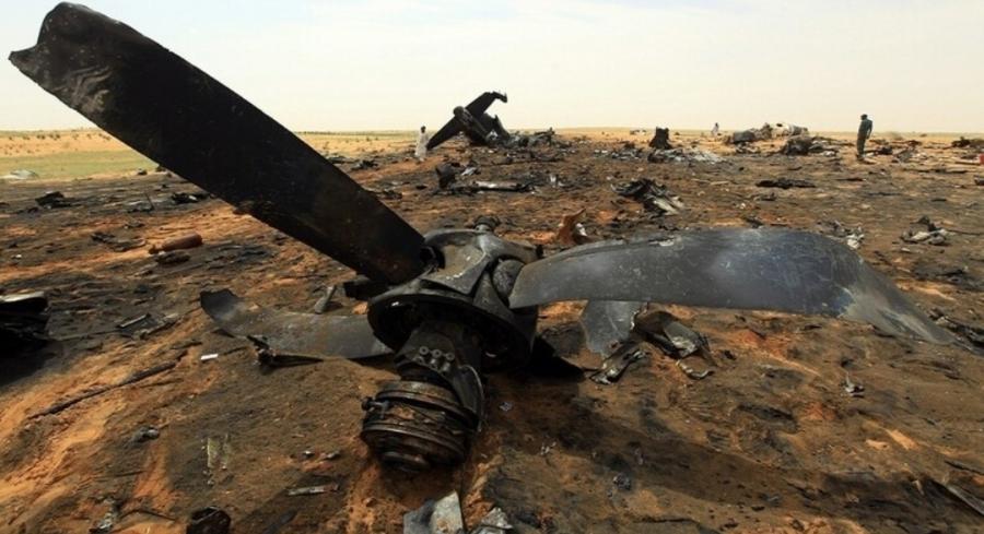 عاجل || تحطم طائرة عسكرية سودانية كانت تحمل أسلحة وذخائر