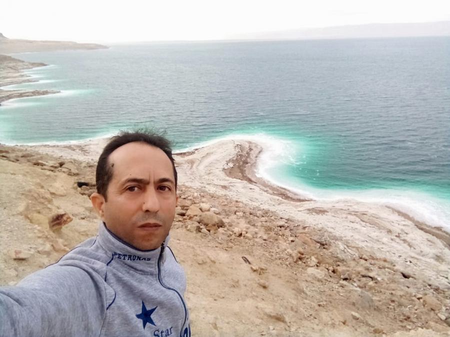 البحر الميت هبة الله للأردن.