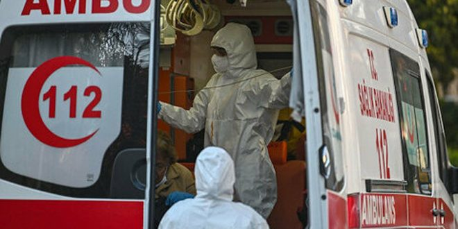 تركيا تسجل 168 وفاة و7550 إصابة جديدة بكورونا