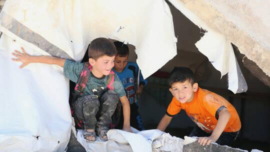 منظمة دولية ظروف قاسية تواجه اللاجئين السوريين في بلدة عرسال بلبنان