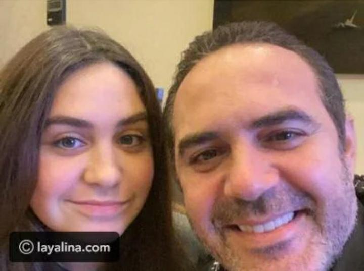 أحدث ظهور لـ وائل جسار برفقة ابنته