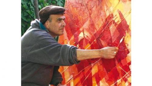 وفاة الفنان التشكيلي الأردني مهنا الدره