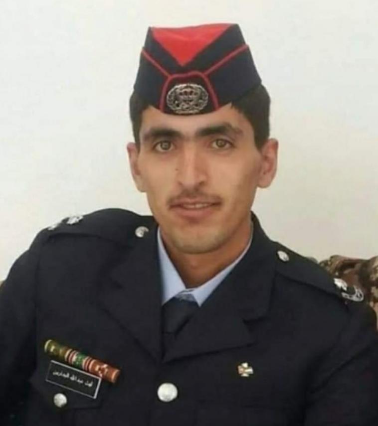 الامن العام يشيع جثمان الملازم أول ليث عبدالله عقله البدارين