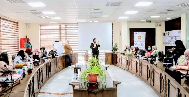 أطلقت مجموعة من المؤسسات المجتمع المدني ضمن ايام العمل المشترك برنامج تدريبي متخصص  Women 19 for WEE